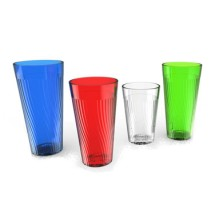 Thunder Group PLPCTB324CL Clear Belize Tumbler 24 oz.