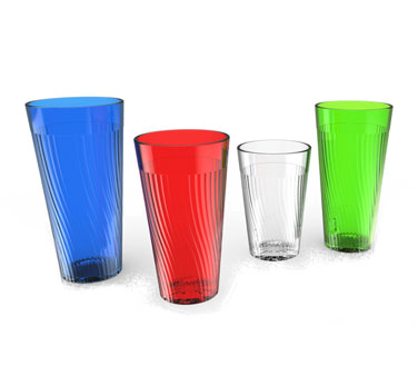 Thunder Group PLPCTB324CL Clear Belize Tumbler, 24 oz.