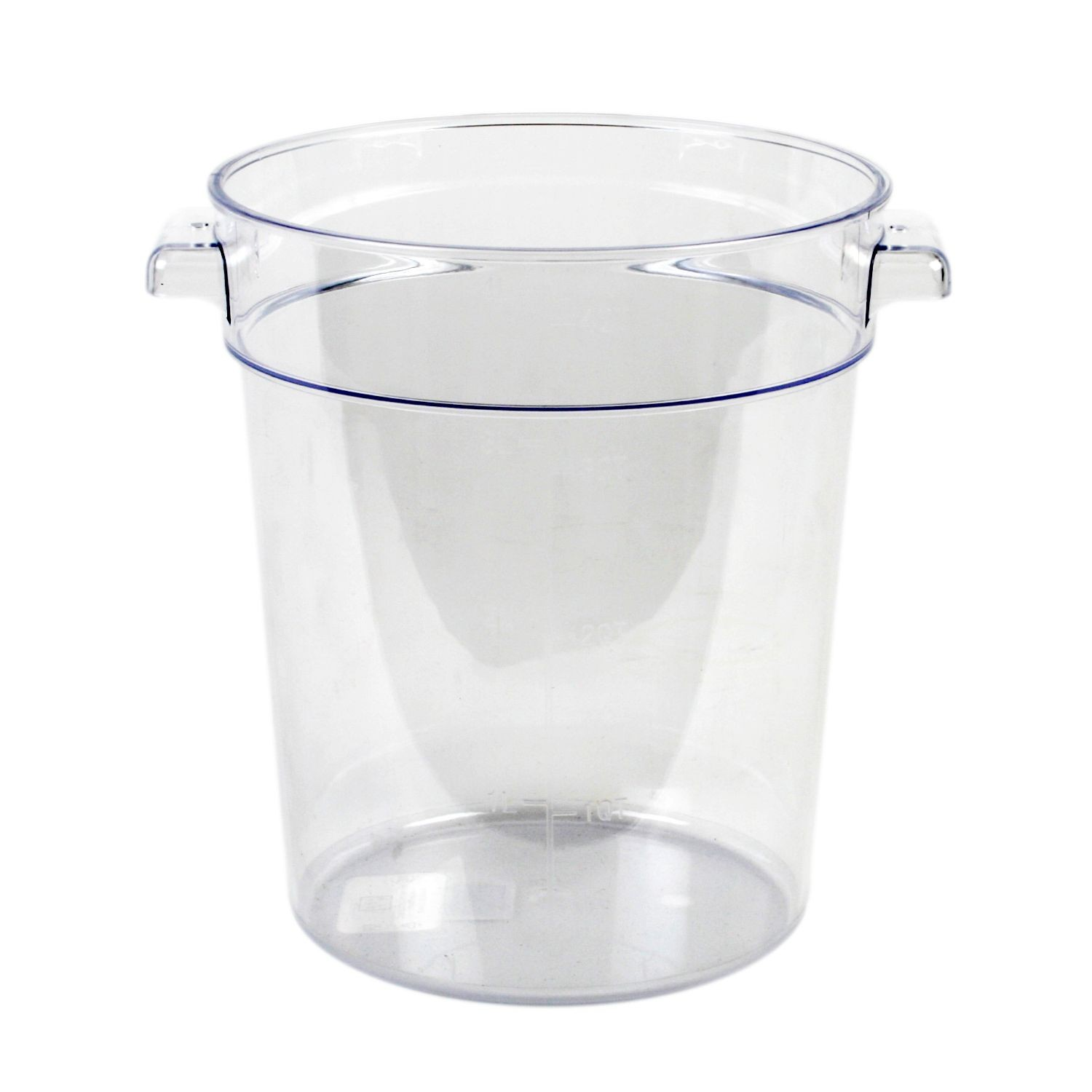 Thunder Group PLRFT004PC Food Storage Container 4 Qt. - 1 doz