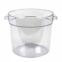 Thunder Group PLRFT006PC Food Storage Container 6 Qt. - 1 doz