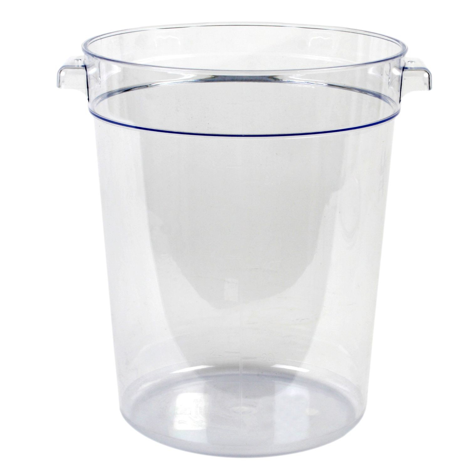 Thunder Group PLRFT008PC Food Storage Container 8 Qt. - 1 doz
