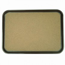 Thunder Group PLRT1612CK Rectangle Tray With Cork - 1 doz