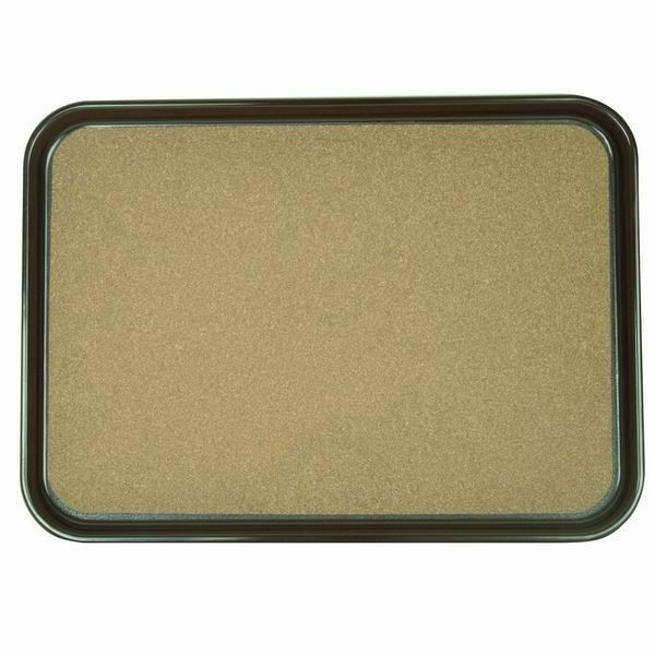 "Thunder Group PLRT1612CK Rectangular Slip Resistant Serving Tray With Cork 16"" x 12"" - 1 doz"
