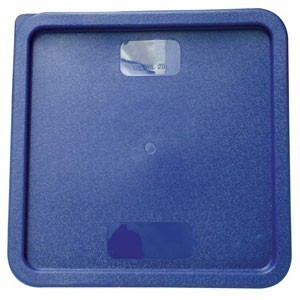 Thunder Group PLSFT121822C Blue Storage Container Cover for 12, 18, 22 Qt. - 1/2 doz