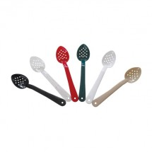 "Thunder Group PLSS213 Perforated Polycarbonate Serving Spoon 13"" - 1 doz"