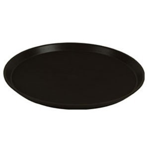 Thunder Group PLST1100BL Black Serving Tray 11""