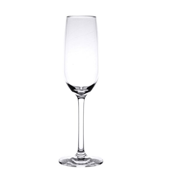 Thunder Group PLTHCP007C Polycarbonate Champagne Glass 7 oz. - 1 doz