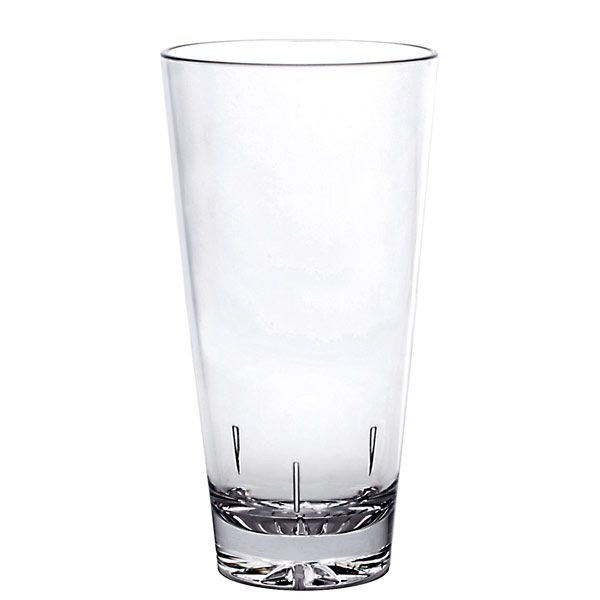 Thunder Group PLTHMG020C Polycarbonate Mixing Glass 20 oz. - 1 doz