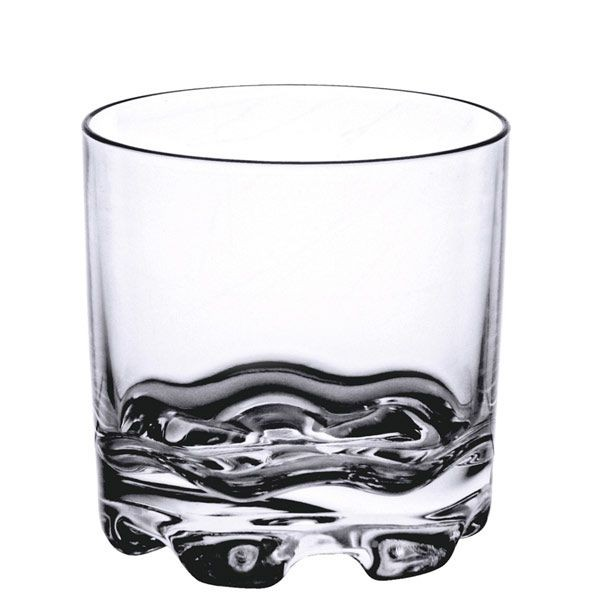 Thunder Group PLTHRG008C Polycarbonate Rock Glass 8.5 oz. - 1 doz