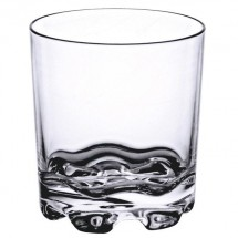 Thunder Group PLTHRG012C 12 oz Poly Rock Glass - 1 doz