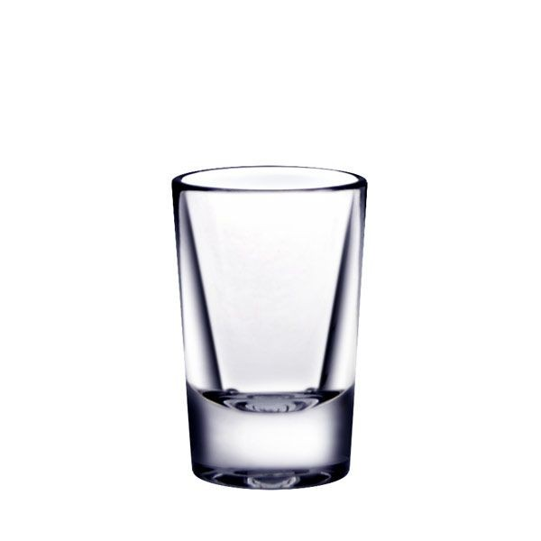 Thunder Group PLTHSG001CC 1 oz Polycarbonate Shot Glass - 2 doz