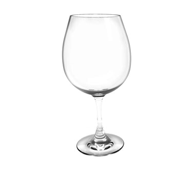 Thunder Group PLTHWG025RC Polycarbonate Red Wine Glass 25 oz.