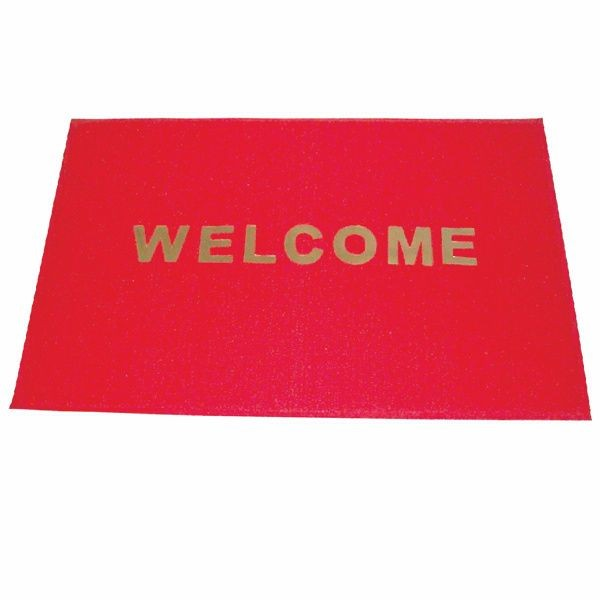 "Thunder Group PLWC002 PVC Welcome Carpet 47"" x 35"""