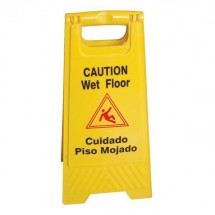 "Thunder Group PLWFC024 Fold-Up Caution Sign 24"" x 12"""