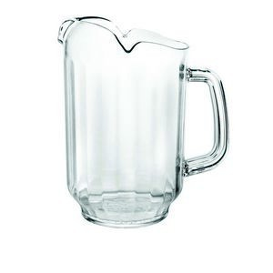 Thunder Group PLWP032CL Three Spout Water Pitcher 32 oz.