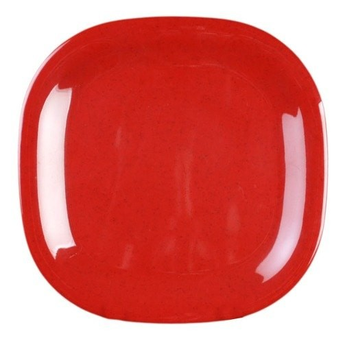 Thunder Group PS3010RD Passion Red Square Melamine Plate 11u0026 - 1 doz.  sc 1 st  TigerChef & Thunder Group PS3010RD Passion Red Square Melamine Plate 11