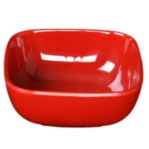 Thunder Group PS3103 Round Square Melamine Passion Bowl 5 oz. - 1 doz