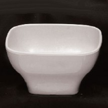Thunder Group PS3106 Round Square Melamine Passion Bowl 20 oz. - 1 doz