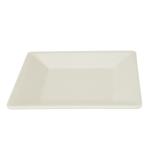 "Thunder Group PS3204V Passion Pearl Square Melamine Plate 4"" - 1 doz"