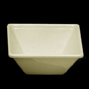 Thunder Group PS5005V Pearl Square Melamine Passion Bowl 11 oz. - 1 doz