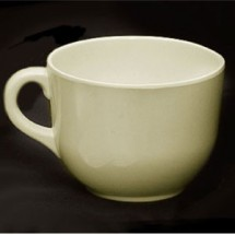 Thunder Group PS9475V Pearl Melamine Passion Mug 24 oz. - 1/2 doz