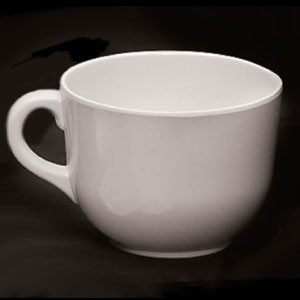 Thunder Group PS9475W 24 oz. White Mug - 1/2 doz