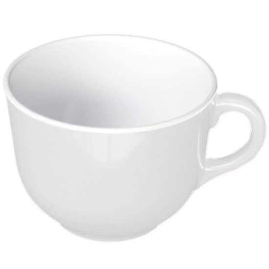 Thunder Group PS9475W Passion White Melamine Mug 23 oz. - 1/2 doz