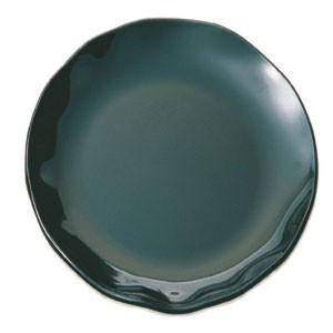 "Thunder Group RF1018B Round Black Pearl Plate 18"" - 2 pcs"