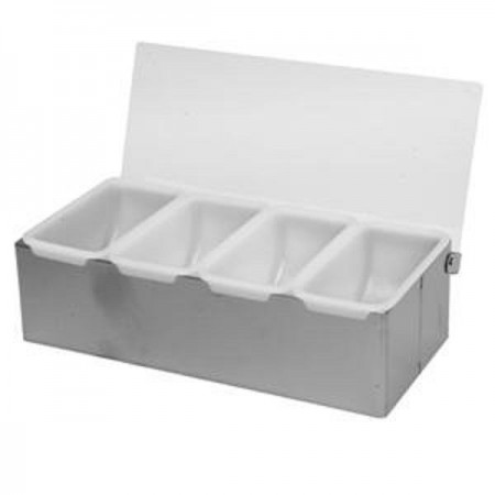 Thunder Group SLCN004 4 Compartment Condiment Dispenser