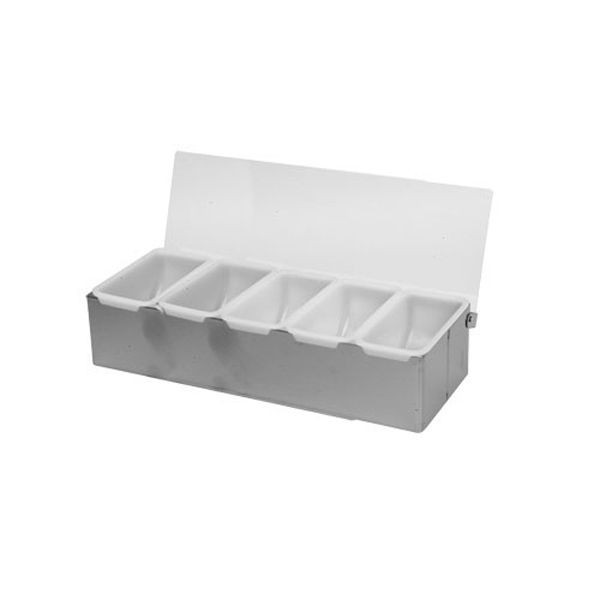 Thunder Group SLCN005 5 Compartment Condiment Dispenser