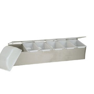 Thunder Group SLCN006 6 Compartment Condiment Dispenser
