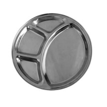 Thunder-Group-SLCRT004-4-Compartment-Stainless-Steel-Tray