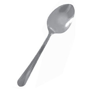 Thunder Group SLDO011 Domilion Stainless Steel Table Spoon - 2 doz
