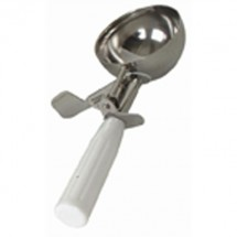 Thunder Group SLDS006 White Ice Cream Disher 5-1/3 oz.