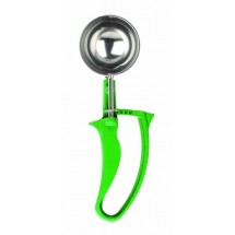 Thunder Group SLDS212G Green Easy Grip Disher 2-2/3 oz.