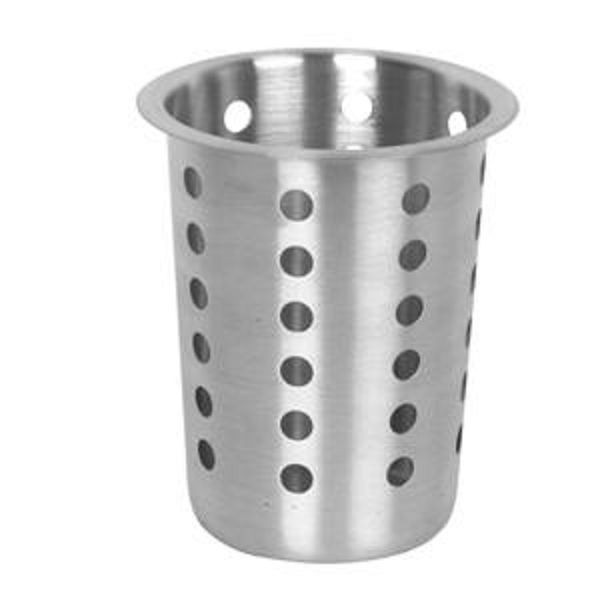 Thunder Group SLFC001 Stainless Steel Flatware Cylinder - 1 doz