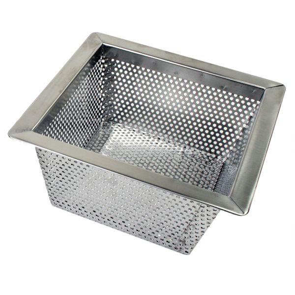 "Thunder Group SLFDS510 Stainless Steel Floor Drain 10"" x 10"" - 1/2 doz"