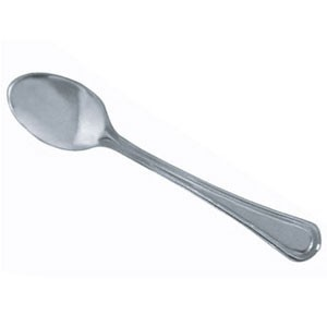 Thunder Group SLGD001 Legend Stainless Sugar Spoon - 2 doz