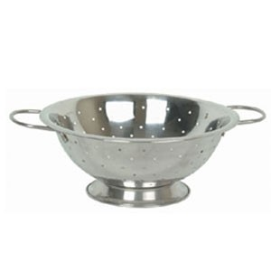 Thunder Group SLIL001 Stainless Steel Colander 3 Qt. - 1 doz
