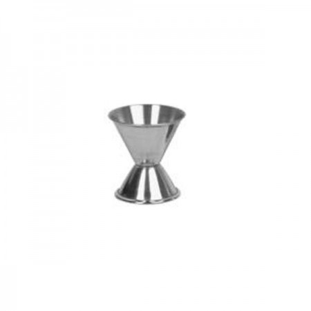 Thunder Group SLJG001 Stainless Steel Jigger 1/2 oz. x 1 oz. - 1 doz