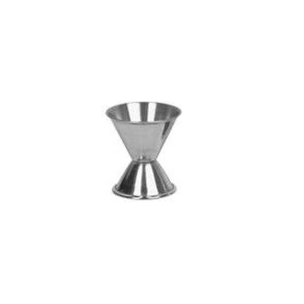 Thunder Group SLJG001 Stainless Steel 1/2 Oz. x 1 Oz. Jigger - 1 doz