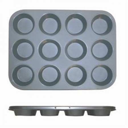 Thunder Group SLKMP012 12 Cup Non-Stick Muffin Pan
