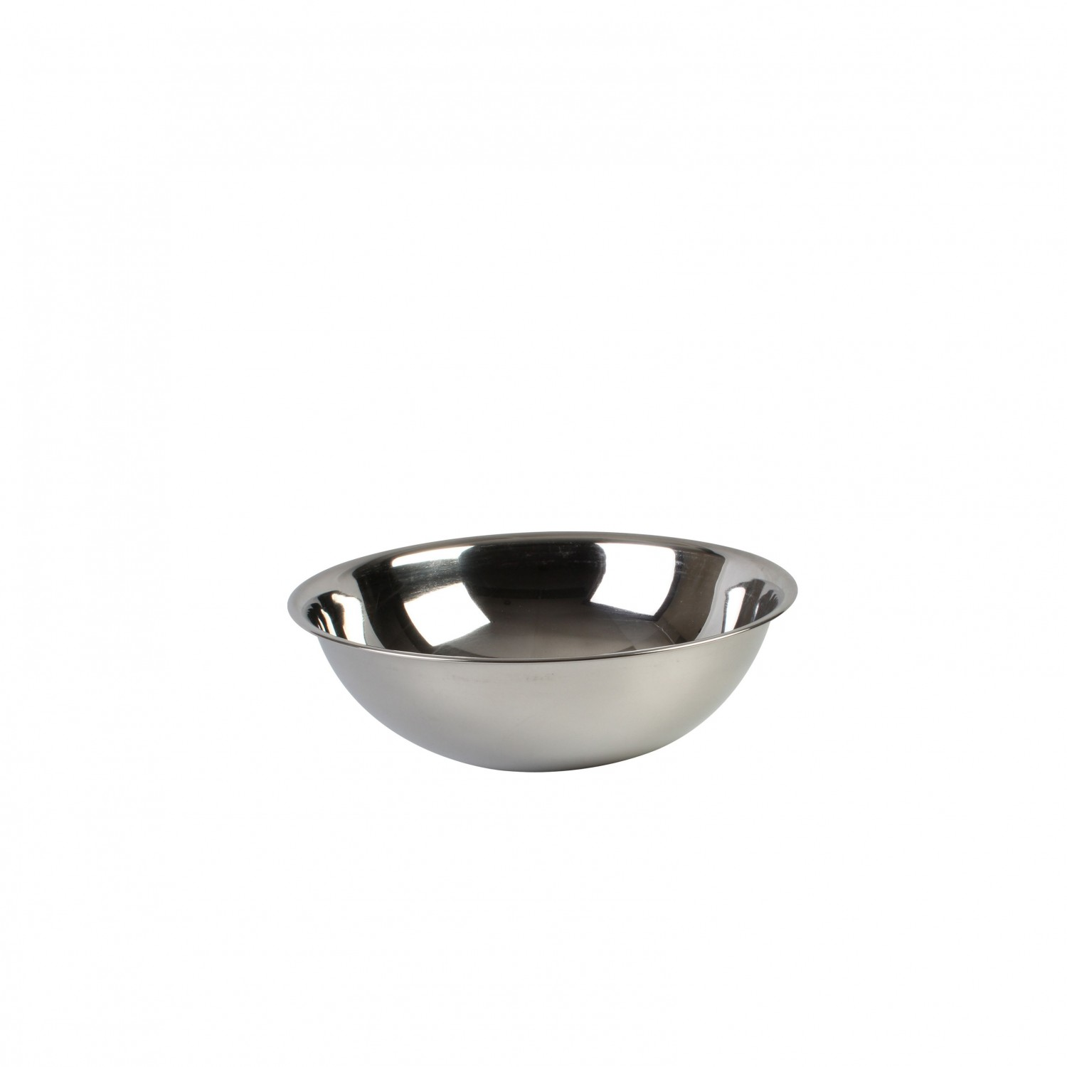 Thunder Group SLMB204 Heavy Duty Stainless Steel Mixing Bowl 4 Qt. - 2 doz