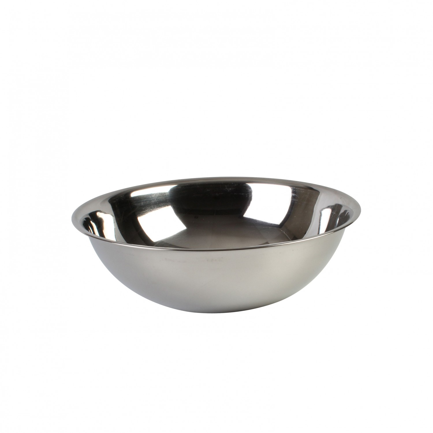 Thunder Group SLMB206 Heavy Duty Stainless Steel Mixing Bowl 8 Qt. - 1 doz