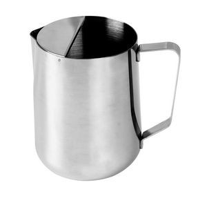 Thunder Group SLME266 Stainless Steel Pitcher with Ice Guard 66 oz. - 2 doz