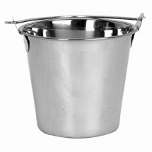 Thunder Group SLPAL009 9 qt. Stainless Steel Pail - 1 doz