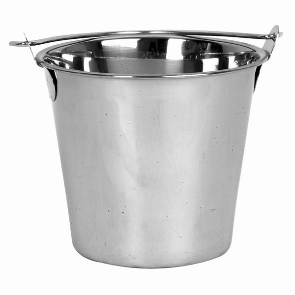 Thunder Group SLPAL016 Stainless Steel Pail 16 Qt. - 1 doz