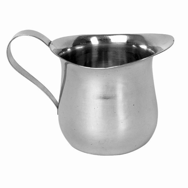 Thunder Group SLRBC003 Stainless Steel Bell Creamer 8 oz. - 1 doz