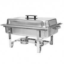 Thunder Group SLRCF001 Rectangular Chafer 8 Quart