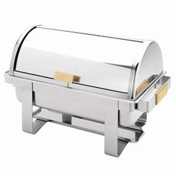 Thunder Group SLRCF0171G 8 Qt. Roll Top Chafer